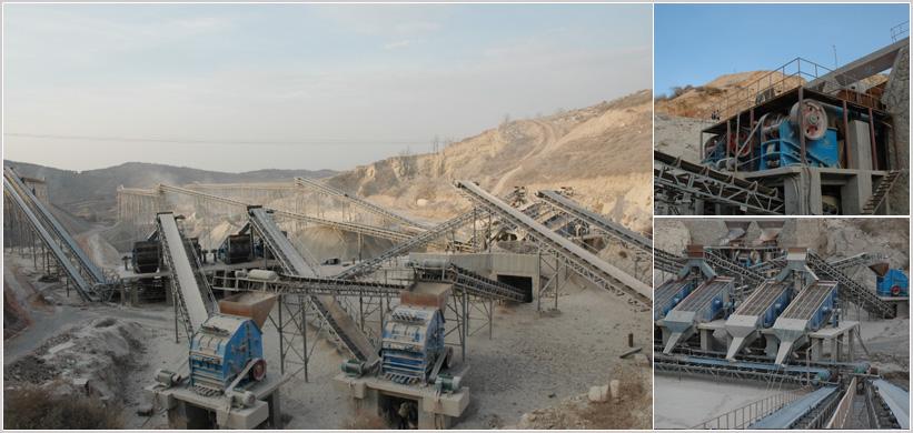 时产200t石灰石石料生产线成套设备