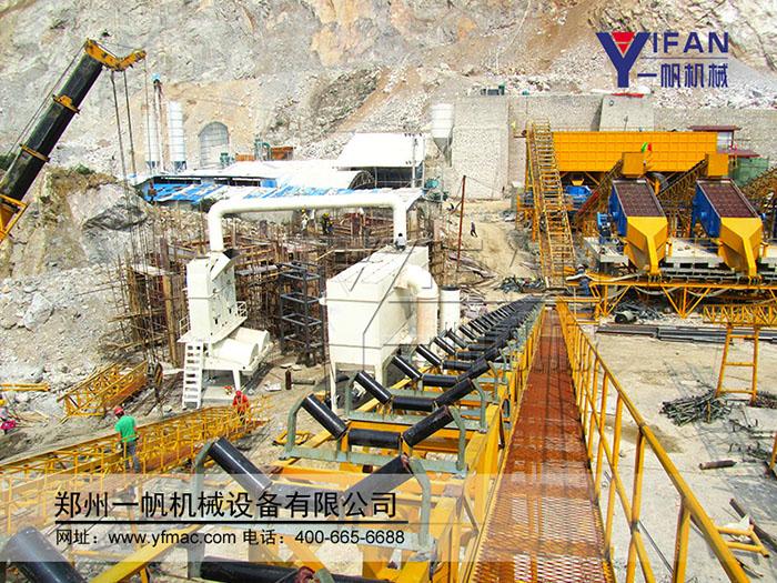 时产120-180t砂石料生产线成套设备