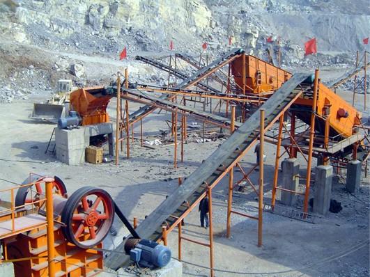 沙石生产线