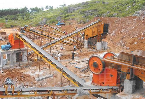 时产50t以下砂石料生产线成套设备